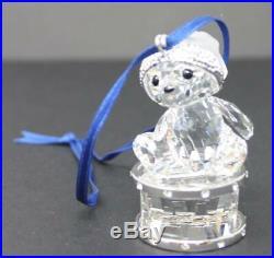 Swarovski Crystal 2007 Christmas Kris Bear (on drum) Annual Ed Ornament 905208