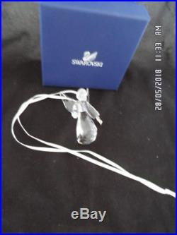 Swarovski Crystal 2008 Annual Edition Christmas Angel Ornament