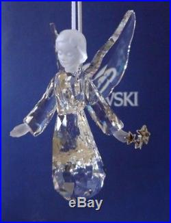 Swarovski Crystal 2008 Annual Edition Christmas Angel Ornament 939734 MIB COA