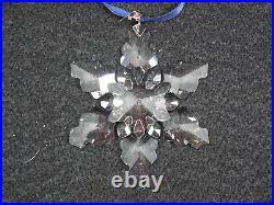 Swarovski Crystal 2008 Christmas Ornament Snowflake #9400 NR 000 196 mint in box