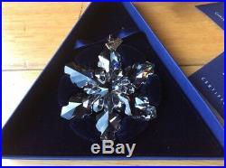 Swarovski Crystal 2008 Christmas Snowflake Boxed Limited Edition 1