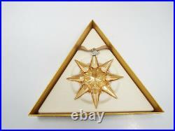 Swarovski Crystal 2009 Christmas Ornament Snowflake #9400 NR 000 224 Mint in box