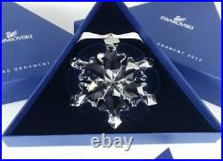 Swarovski Crystal 2012 Annual Edition Christmas Ornament Authentic 1125019 New