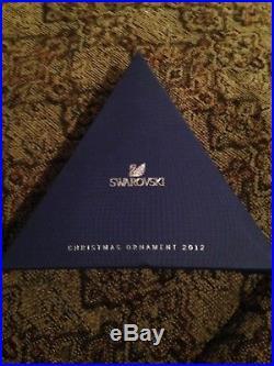 Swarovski Crystal 2012 Snowflake Annual Edition Holiday Christmas Ornament