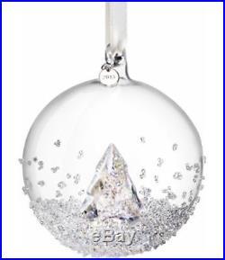 Swarovski Crystal 2013 Christmas Ball Ornament #5004498 NEW IN BOX