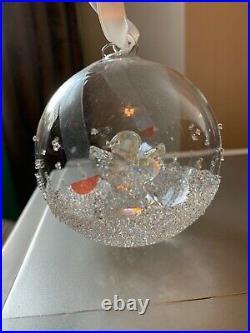 Swarovski Crystal 2015 Christmas Ball Ornament Angel #5135821 New in Box