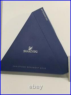 Swarovski Crystal 2015 Star Snowflake Ornament Box and COA Annual Christmas