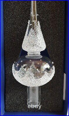 Swarovski Crystal, 2017 Christmas Tree Topper. Art No 5301303