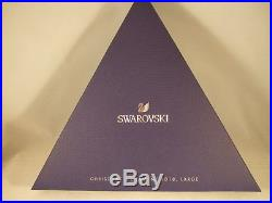 Swarovski Crystal 2018 Scs Annual Christmas Gold Ornament 5376665 X-lg New