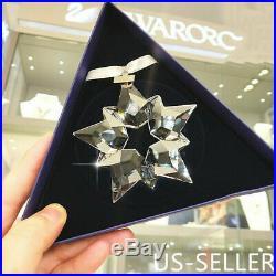 Swarovski Crystal 2019 Annual Edition Ornament 5427990 Snowflake Christmas Gift