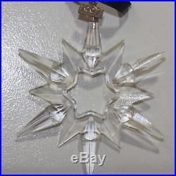 Swarovski Crystal, 211987 Limited Edition 1997 Christmas Ornament, 3.5'H $25