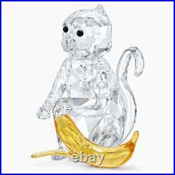 Swarovski Crystal 5524239 NEW MONKEY WITH BANANA. $199