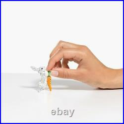 Swarovski Crystal 5530687 NEW RABBIT WITH CARROT. $179