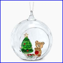 Swarovski Crystal 5533942 NEW 2020 BALL ORNAMENT, CHRISTMAS SCENE 8CM RRP $149