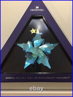 Swarovski Crystal ANNUAL EDITION 2021 30TH ANNIVERSARY ORNAMENT 5596079