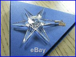 Swarovski Crystal Annual Christmas Ornament 1993 Snowflake