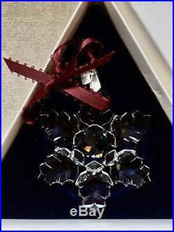 Swarovski Crystal Annual Christmas Ornament 1996