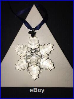 Swarovski Crystal Annual Christmas Ornament 1996 Snowflake