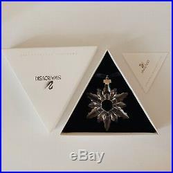 Swarovski Crystal Annual Christmas Ornament 1998