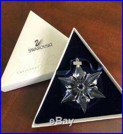 Swarovski Crystal Annual Christmas Ornament 2000
