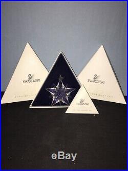 Swarovski Crystal Annual Christmas Ornament 2001 Snowflake