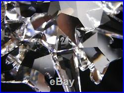 Swarovski Crystal Annual Christmas Ornament 2002 STAR SNOWFLAKE Mint Box COA