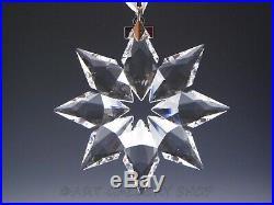Swarovski Crystal Annual Christmas Ornament 2013 STAR SNOWFLAKE Mint Box COA