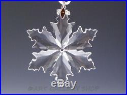 Swarovski Crystal Annual Christmas Ornament 2014 STAR SNOWFLAKE Mint Box COA