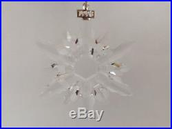 Swarovski Crystal Annual Edition 1998 Christmas Ornament Brand New- With COA