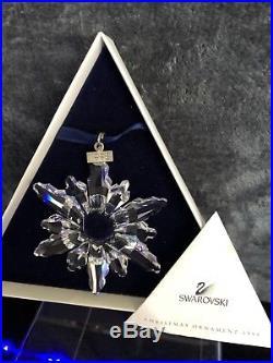 Swarovski Crystal Annual Edition 1998 Christmas Ornament Snowflake Star 220037