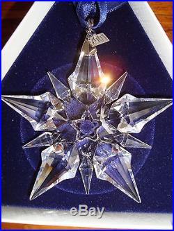 Swarovski Crystal Annual Edition 2001 Christmas Ornament 267941