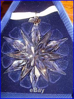Swarovski Crystal Annual Edition 2011 Christmas Ornament 1092037 New in Box
