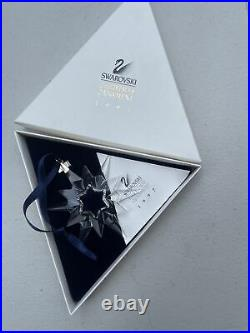 Swarovski Crystal Annual Holiday Christmas Ornament 1997 Original Box