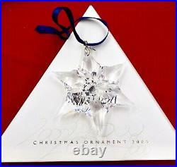 Swarovski Crystal Annual Holiday Christmas Ornament 2000 Original Box