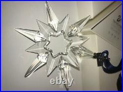 Swarovski Crystal Annual Large Christmas Ornament 1997