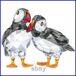 Swarovski Crystal Atlantic Puffins (1 Pair) Figurine Decoration 5472475