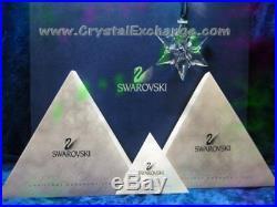 Swarovski Crystal Christmas 2000 Ornament SCO2000 Snowflake Star MIB+COA