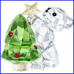 Swarovski Crystal Christmas Figurine KRIS BEAR CHRISTMAS 2018 -5399267 New