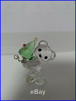 Swarovski Crystal Christmas Kris Bear 2011 Annual Edition #1091815 MIB WithCOA