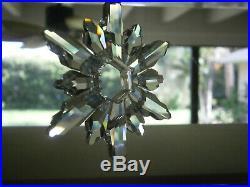 Swarovski Crystal Christmas Large Ornament Annual 1998
