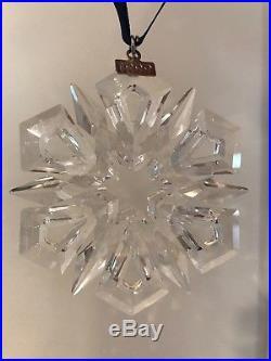 Swarovski Crystal Christmas Large Ornament Annual Edition 1999