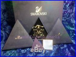 Swarovski Crystal Christmas Large Star Snowflake 2012 Ornament 5004489 MIB+COA