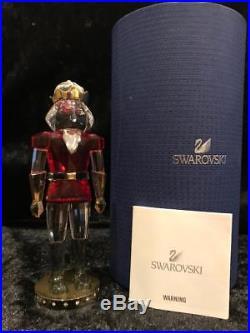 Swarovski Crystal Christmas Nutcracker Ornament