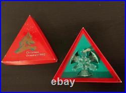 Swarovski Crystal Christmas Ornament 1992 Limited Edition