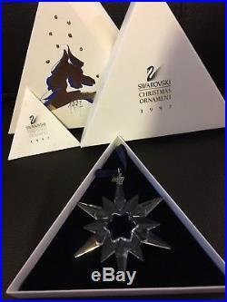 Swarovski Crystal Christmas Ornament 1997