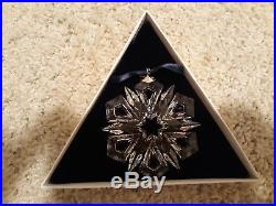 Swarovski Crystal Christmas Ornament 1999 Annual Edition