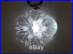 Swarovski Crystal Christmas Ornament 1999 Star Snowflake