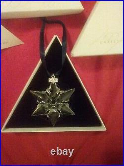 Swarovski Crystal Christmas Ornament 2000