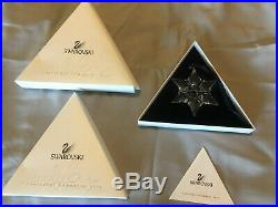 Swarovski Crystal Christmas Ornament 2000 with Box and Packaging