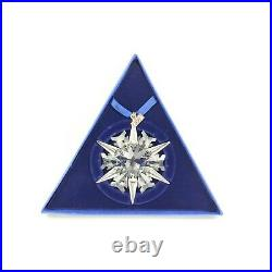 Swarovski Crystal Christmas Ornament 2002 Snowflake North Star Authentic